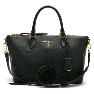 PRADA 1BA104 VITELLO PHENIX NERO(OWW)